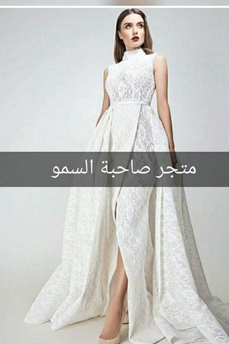 White Prom Dresses, High Neck Prom Dresses, Sexy Prom Dresses, Side Slit Prom Dresses, High Collar Prom Dresses, Lace Prom Dresses, Vestidos de Fiesta Prom Dresses, Side Slit Evening Dresses, 2017 Evening Dresses, White Evening Dresses, A Line Evening Dresses, Fashion Evening Gowns, New Arrival Evening Gowns